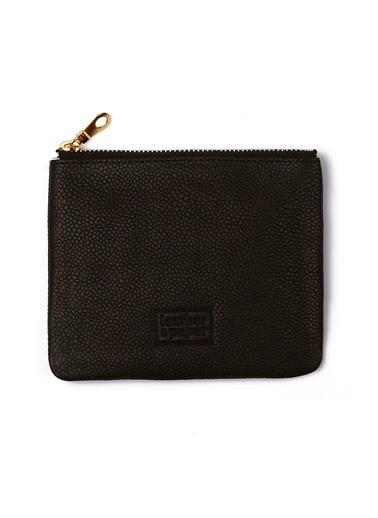 Leather & Paper Deri Mini Çanta Siyah